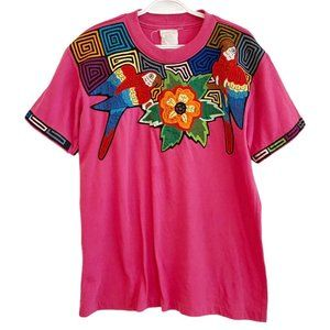 Vintage single stitch oversized tee quilted detail